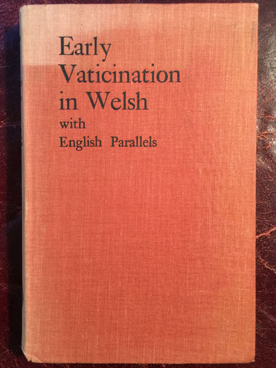 Image for Early Vaticination In Welsh With English Parallels