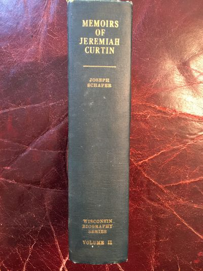 Image for Memoirs Of Jeremiah Curtin  Original Hardcover