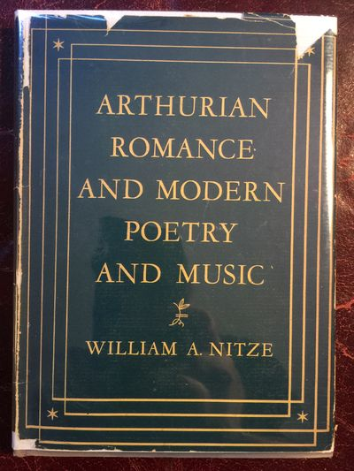 Image for Arthurian Romance And Modern Poetry And Music
