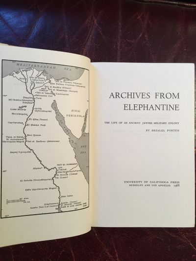 Image for Archives from Elephantine The life of an Ancient Jewish Military Colony