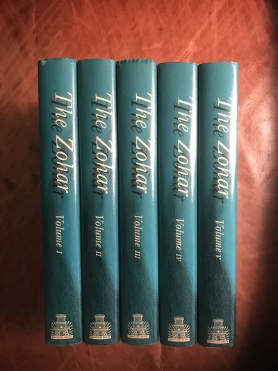 Image for The Zohar The Soncino Press Five Volume Hardcover Set
