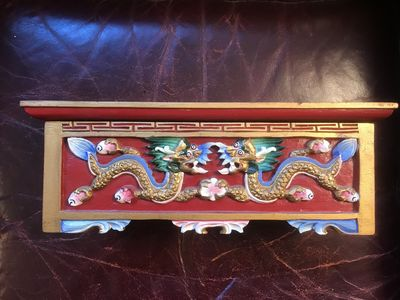 Image for Tibetan Dragon Incense Box Handmade in C.1980