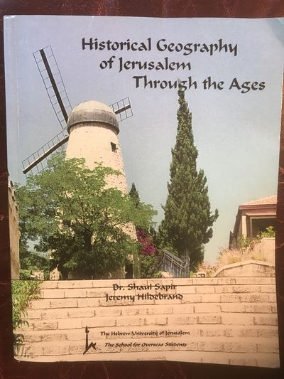 Image for Historical Geography of Jerusalem Through the Ages