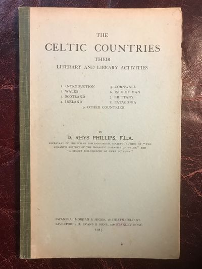 Image for The Celtic Countries Their Literary and Library Activities  Original 1915 Hardcover
