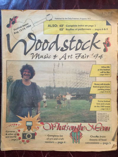 Image for WOODSTOCK MUSIC AND ART FAIR 94  WOODSTOCK II Original 65 pp.1994 Kingston New York  Newspaper Special Publication