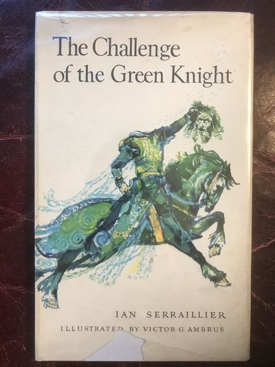 Image for The Challenge Of The Green Knight Color Illustrated  By Victor G. Ambrus Hardcover