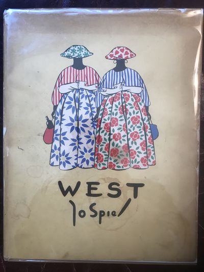 Image for West Met Tekst Van Piet Bakker Jo Spier Original 1948 Hardcover