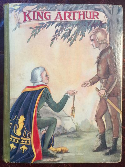 Image for King Arthur Frances Brundage Full Color Painted Cover Hardcover