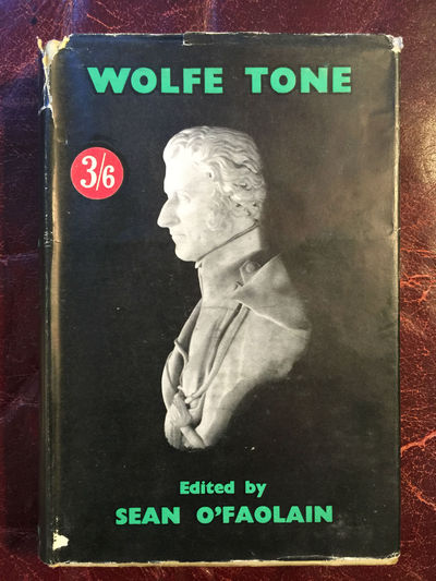 Image for The Autobiography Of Wolfe Tone  Edited Sean O' Faolain  First Edition Hardcover