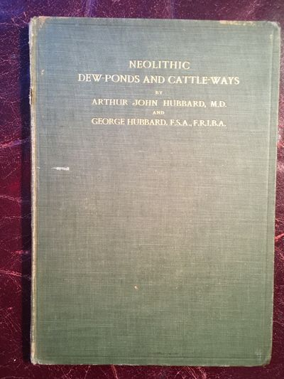 Image for Neolithic Dew Ponds And Cattle Ways  Original 1907 Hardcover