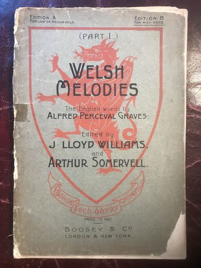 Image for Sixteen Welsh Melodies, With Traditional And Original Welsh Words; And English Lyrics (Part I)