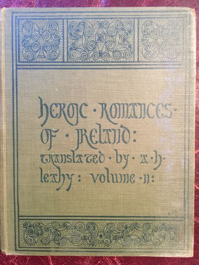 Image for Heroic Romances Of Ireland Translated Into English Prose And Verse In Two Volumes Original 1905  Hardcover Set