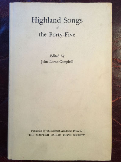 Image for Highland Songs Of The Forty-Five
