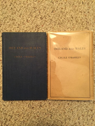 Image for Ireland And Wales Their Historical And Literary Relations Original Hardcover With Dust Jacket