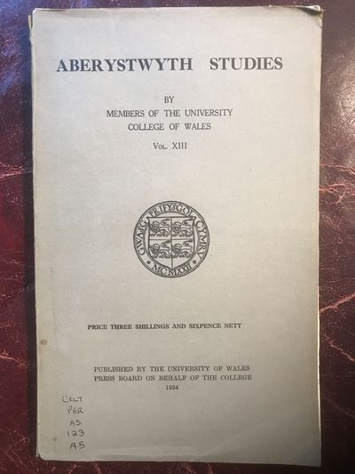 Image for Aberystwyth Studies Vol.XIII The Travels Of St.Samson Of Dol