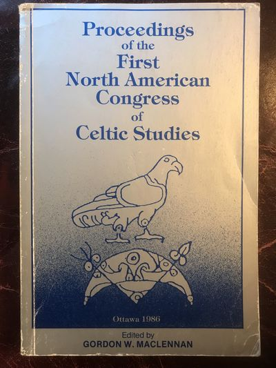 Image for Proceedings of the First North American Congress of Celtic Studies