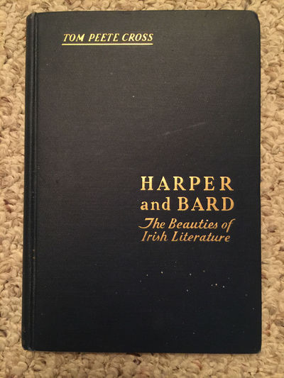 Image for Harper And Bard The Beauties Of Irish Literature Hardcover